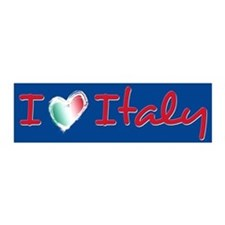 I love Italy 21x7 Wall Peel