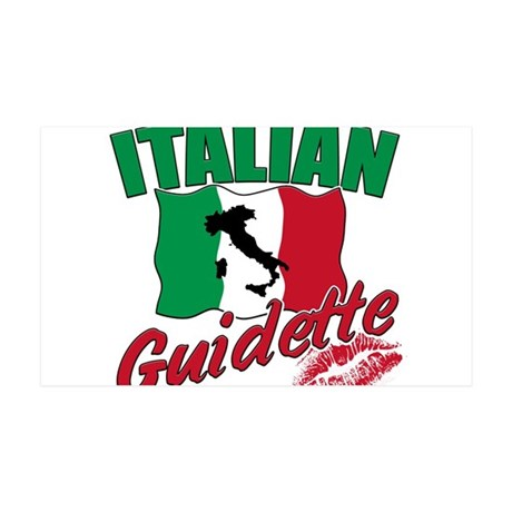 italian pride 38.5 x 24.5 Wall Peel