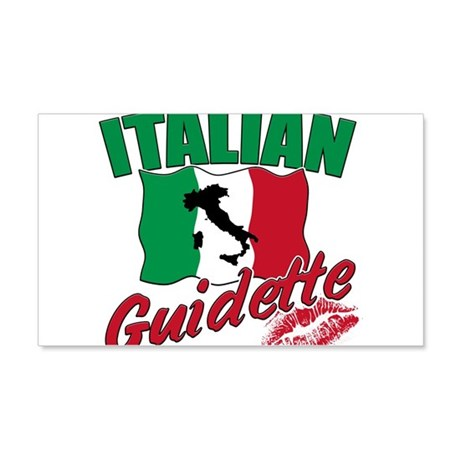 italian pride 22x14 Wall Peel