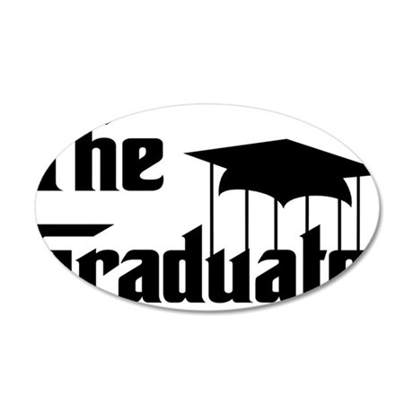 The graduate 22x14 Oval Wall Peel
