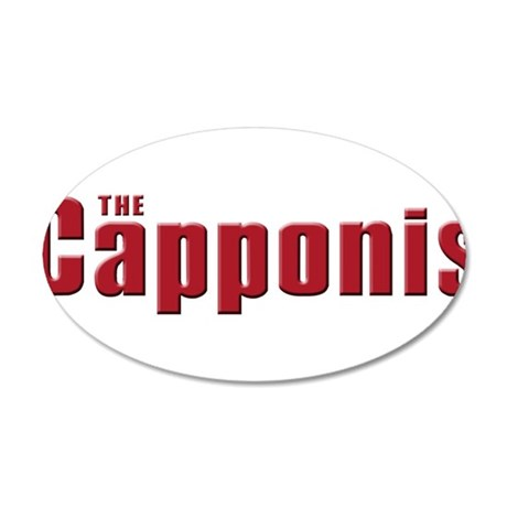 The Capponi family 38.5 x 24.5 Oval Wall Peel