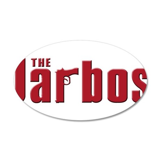 Jarbos family 38.5 x 24.5 Oval Wall Peel