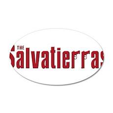 Salvatierra family 38.5 x 24.5 Oval Wall Peel