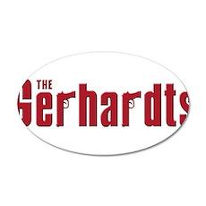 Gerhardts 38.5 x 24.5 Oval Wall Peel