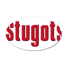 Stugots 22x14 Oval Wall Peel