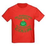 Personalized for Collin Kids Dark T-Shirt