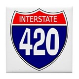 Interstate 420 Tile Coaster