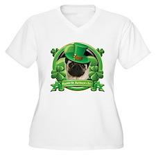 Happy St. Patrick's Day Pug T-Shirt