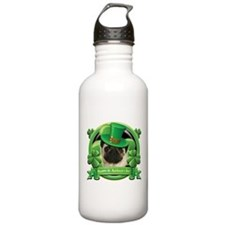 Happy St. Patrick's Day Pug Water Bottle