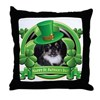Happy St. Patrick's Day Pekingnese Throw Pillow