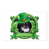 Happy St. Patrick's Day Pekingnese Postcards (Pack