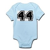 Varsity Uniform Number 44 Infant Creeper