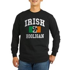 Irish Hooligan Distressed T