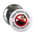 New Mexico Agaisnt Romney button