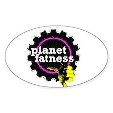 PlanetFatness Decal