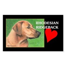 Rhodesian Ridgeback Decal