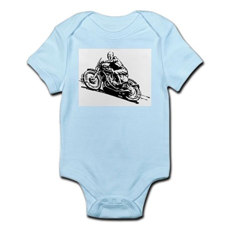 Vintage Motorcycle Infant Bodysuit
