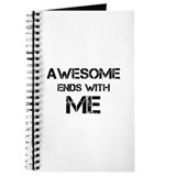 Awesome end with Me Journal