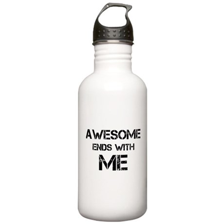 Awesome end with Me Stainless Water Bottle 1.0L