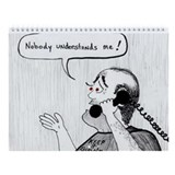 12 STEP CARTOONS Wall Calendar