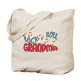 ROCK AND ROLL GRANDMA Tote Bag