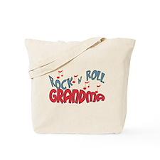 ROCK AND ROLL GRANDMA Tote Bag