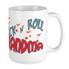 ROCK AND ROLL GRANDMA Mug