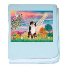 Cloud Angel / Aussie (#2) baby blanket