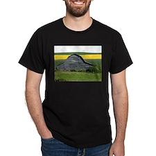 Ste. Agathe grange Black T-Shirt