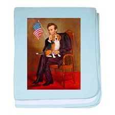 Lincoln's Beagle baby blanket