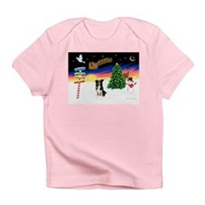 XmasSigns/BorderCollie 4 Infant T-Shirt