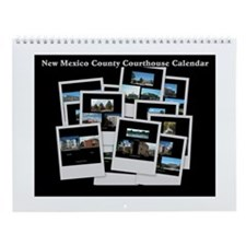 New Mexico County Courthouse Wall Calendar
