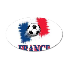 France 22x14 Oval Wall Peel
