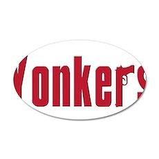 Yonkers 38.5 x 24.5 Oval Wall Peel