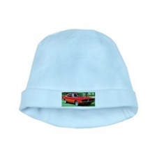 69 Red Charger Photo baby hat