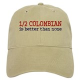 Half Colombian Baseball Cap