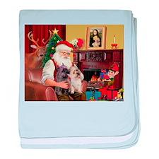 Santa'sCairn baby blanket