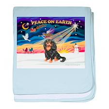 Peace / Cavalier (BT) baby blanket