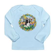 Wreath - Cavalier (Tri) Long Sleeve Infant T-Shirt