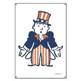 Broke Uncle Sam Banner