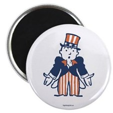 "Broke Uncle Sam 2.25"" Magnet (100 pack)"