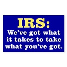 What the IRS Has Decal