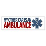My Other Car is an Ambulance (EMS bumper sticker)