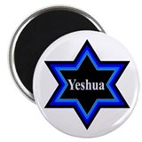 Yeshua Star of David Magnet - 100 Pack