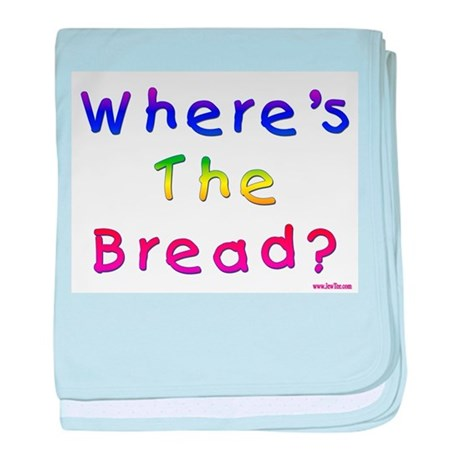 Missing Bread Passover baby blanket