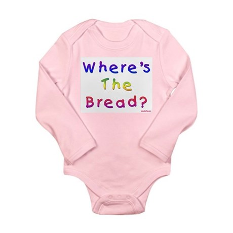 Missing Bread Passover Long Sleeve Infant Bodysuit