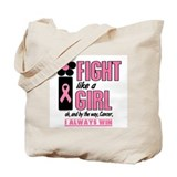 Fight Like A Girl 1.2 Breast Cancer Tote Bag