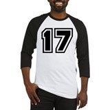 Varsity Uniform Number 17 Baseball Jersey