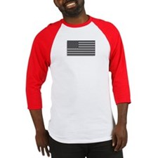 USA American Flag Gray Camo Baseball Jersey
