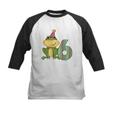Party Frog 6th Birthday Tee